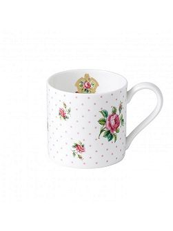 Royal Albert Cheeky pink modern pink roses ceramic