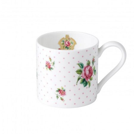 Royal Albert Cheeky pink modern pink roses ceramic mug