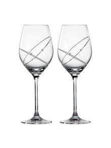 Royal Doulton Promises with this ring wine glasses Set of 2