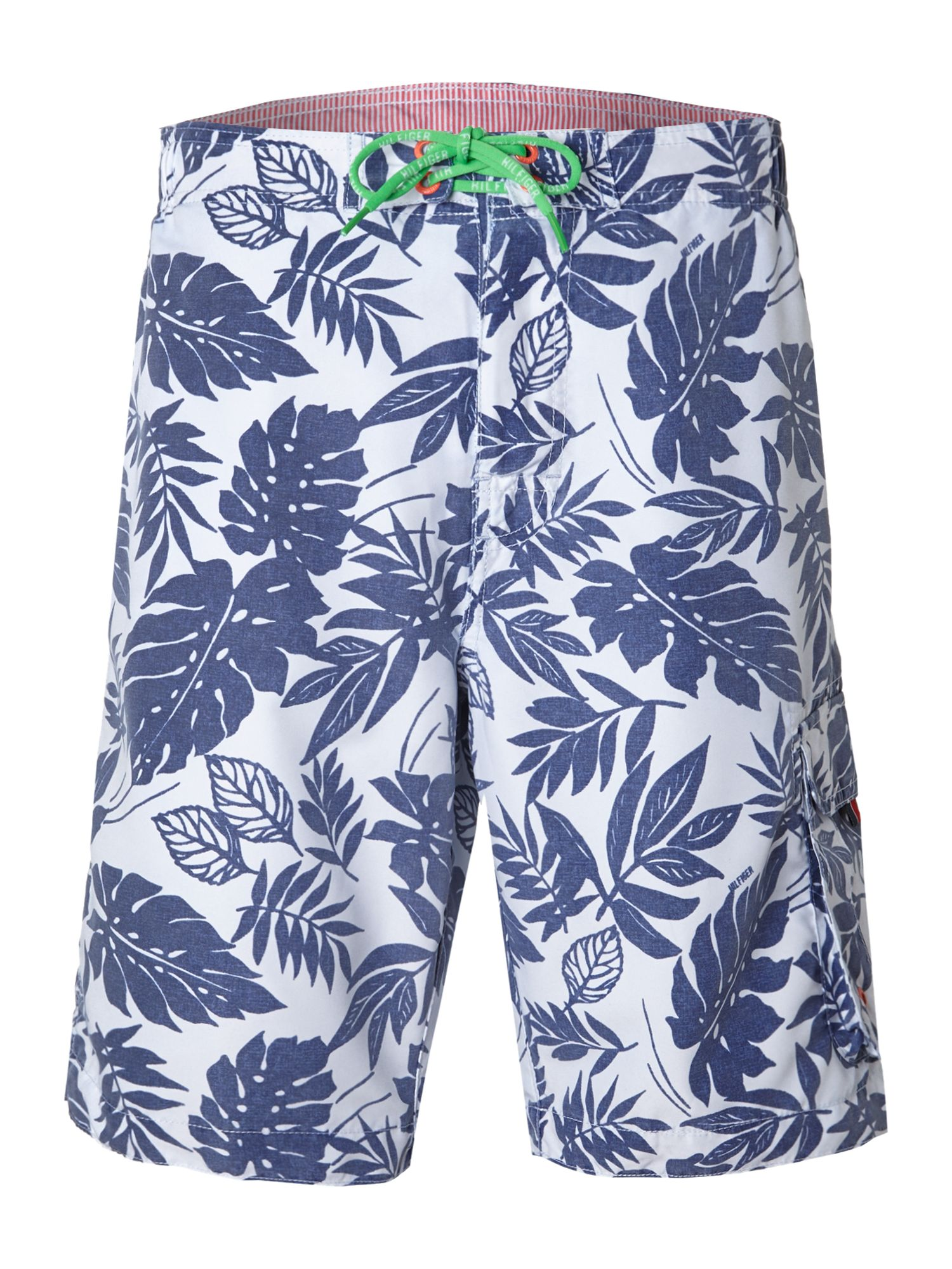 Brody leaf print swim short