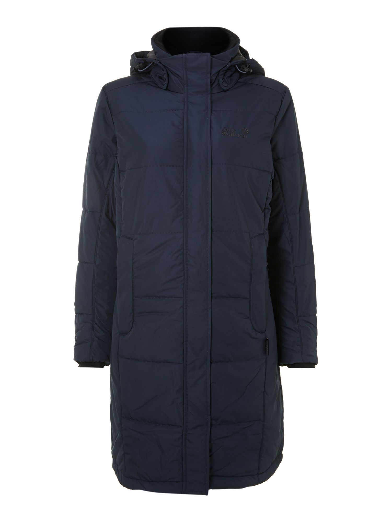Iceguard long padded jacket