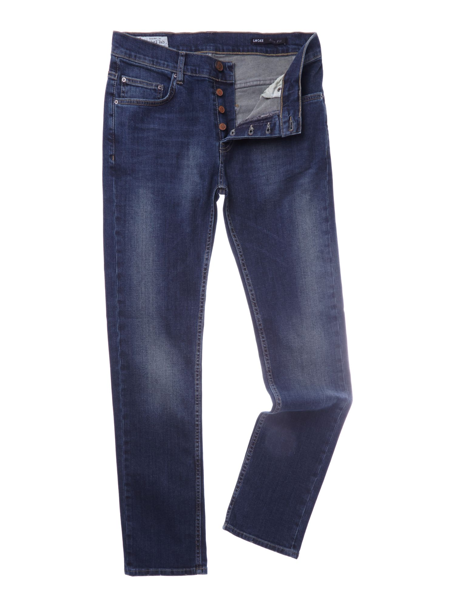 Slim fit denim jean