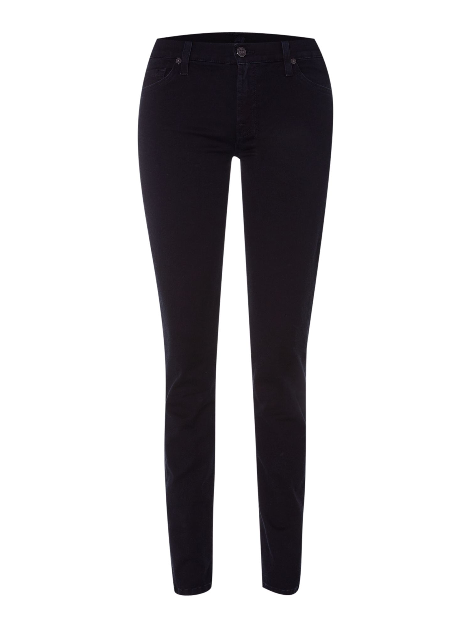 The Skinny gummy jeans in Blue Black