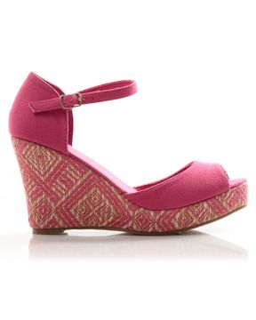 East Wedge Sandals