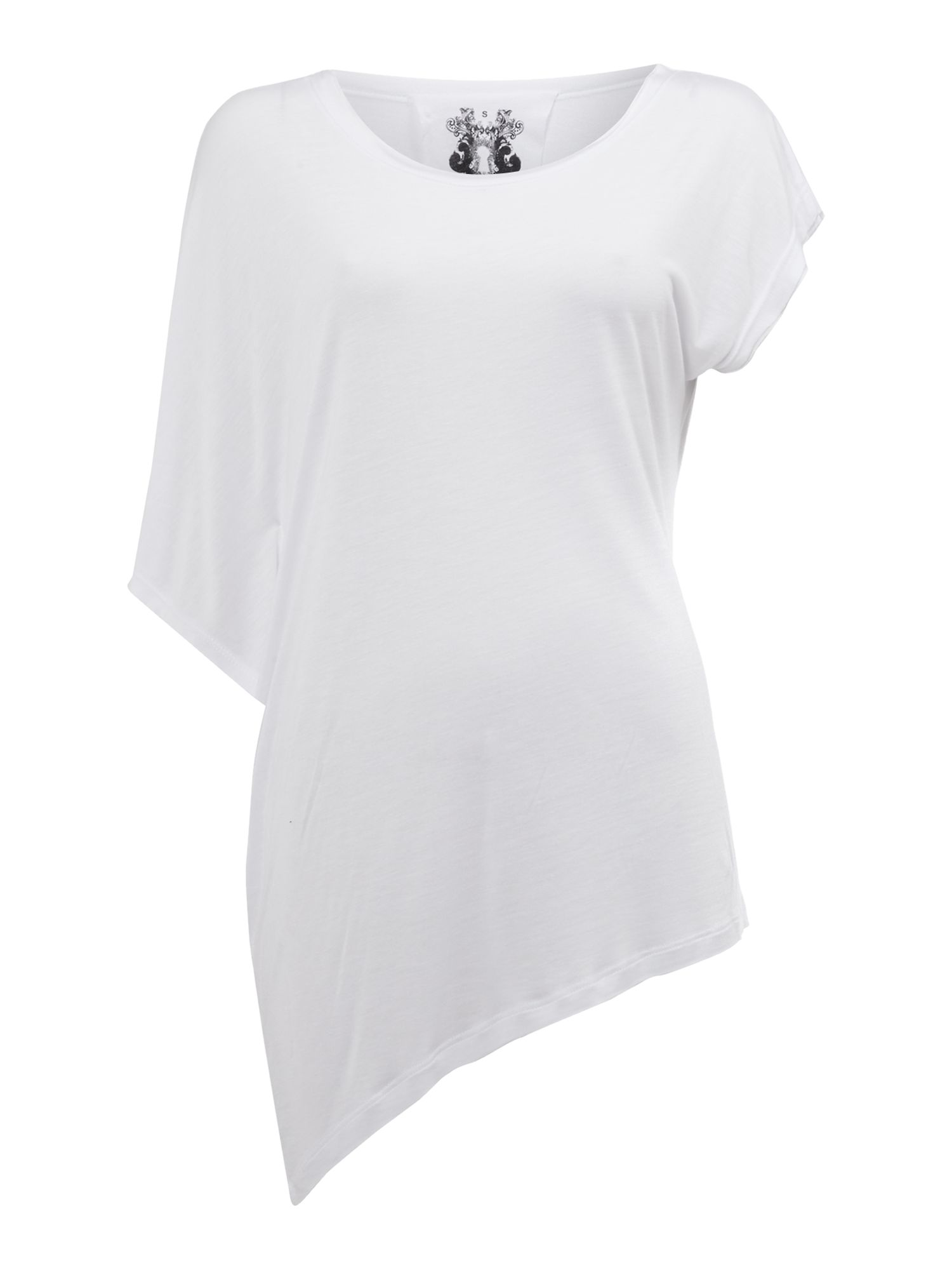 Oversized asymmetric tee