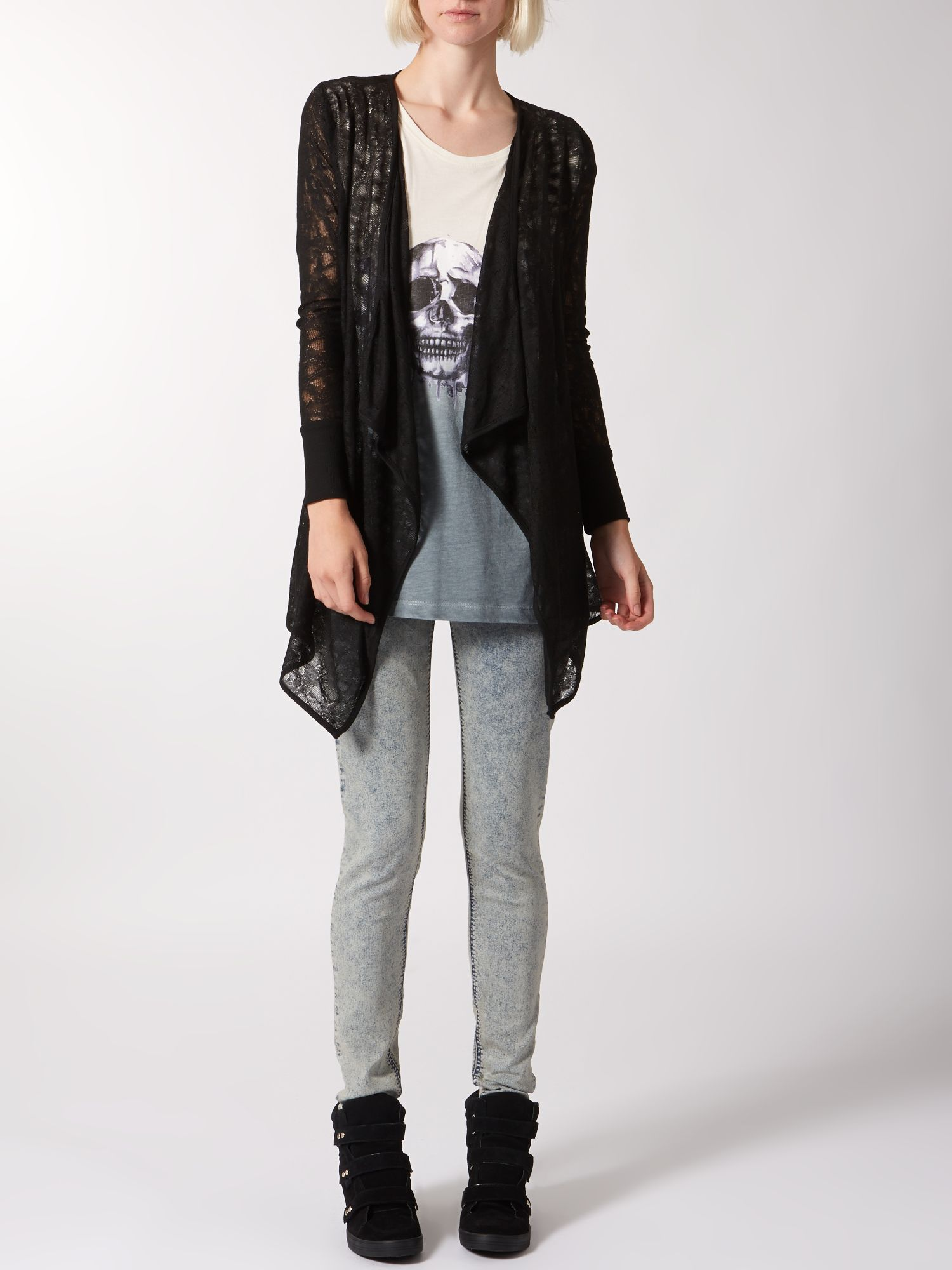 Cobweb Waterfall Cardigan