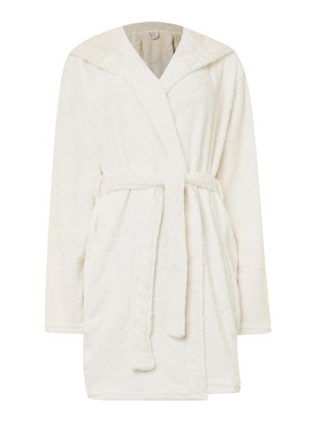 Therapy Star embossed robe