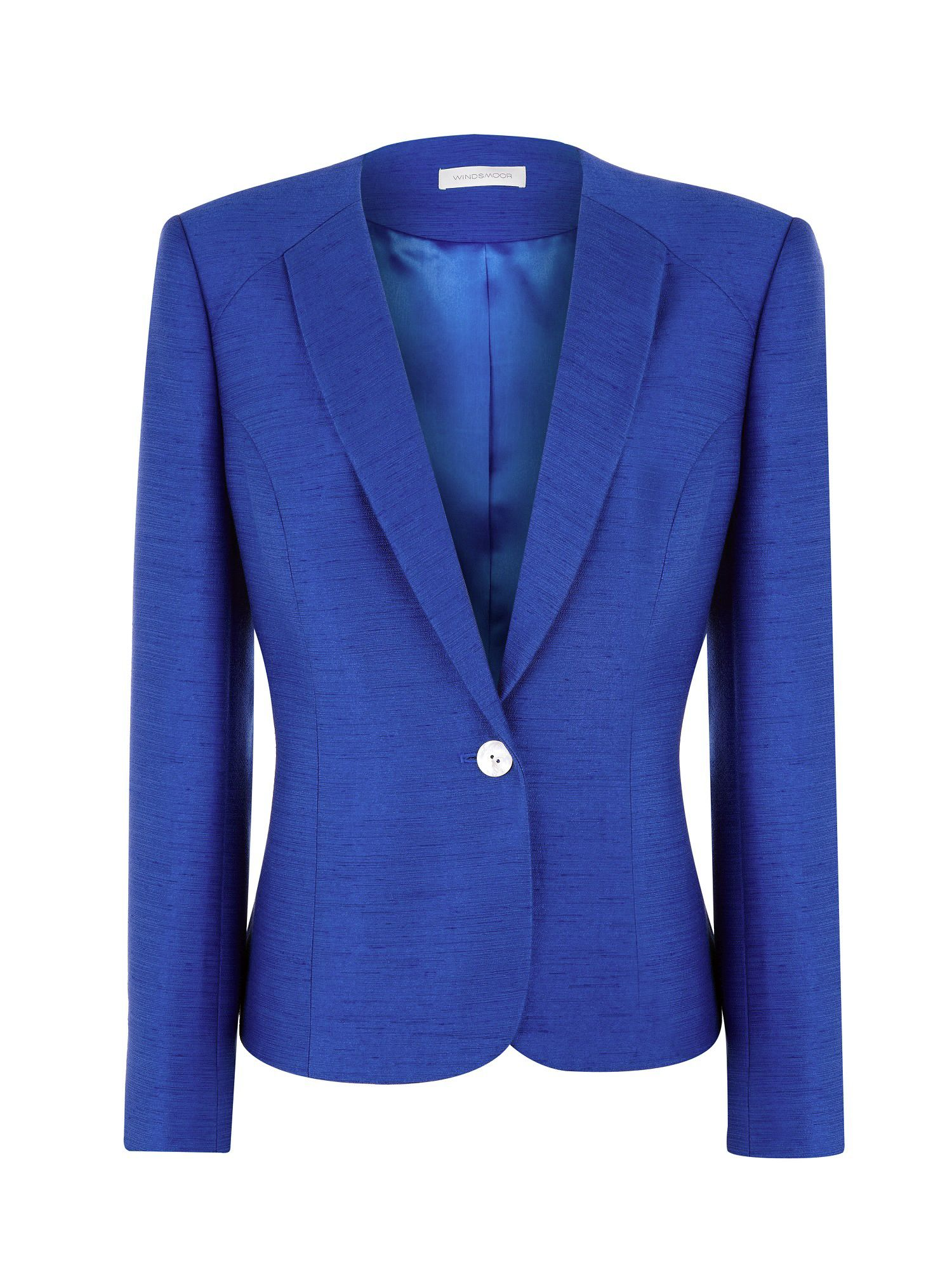Pacific blue occasion jacket