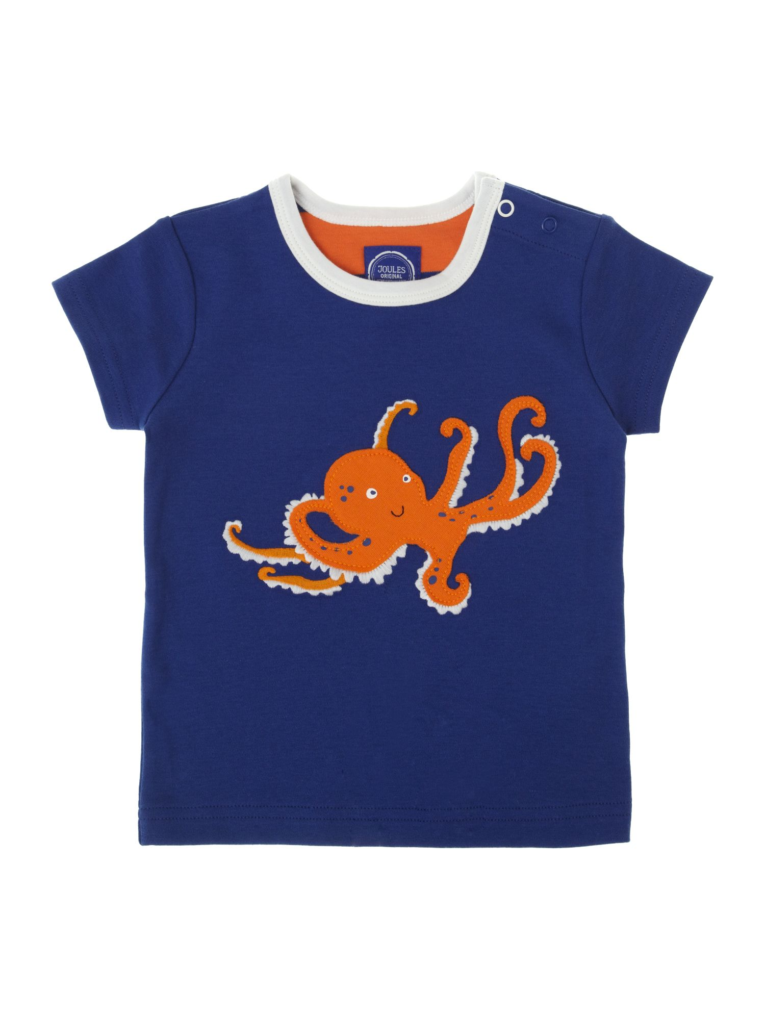 Boy`s octopus graphic t-shirt