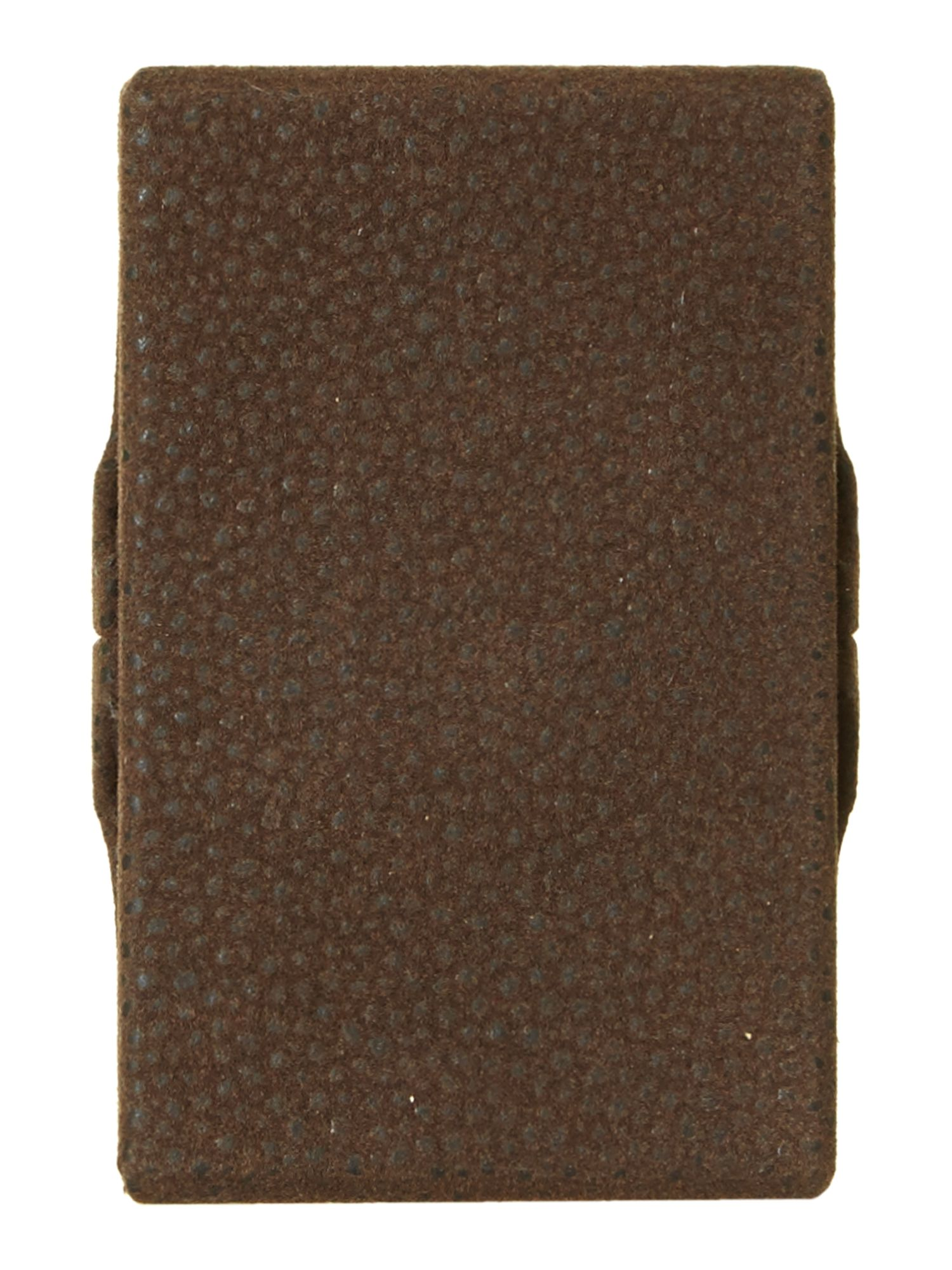 Scotch grain hard card case
