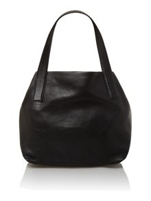 Black medium hobo handbag