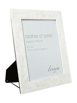 Mother or pearl photo frame 8x10