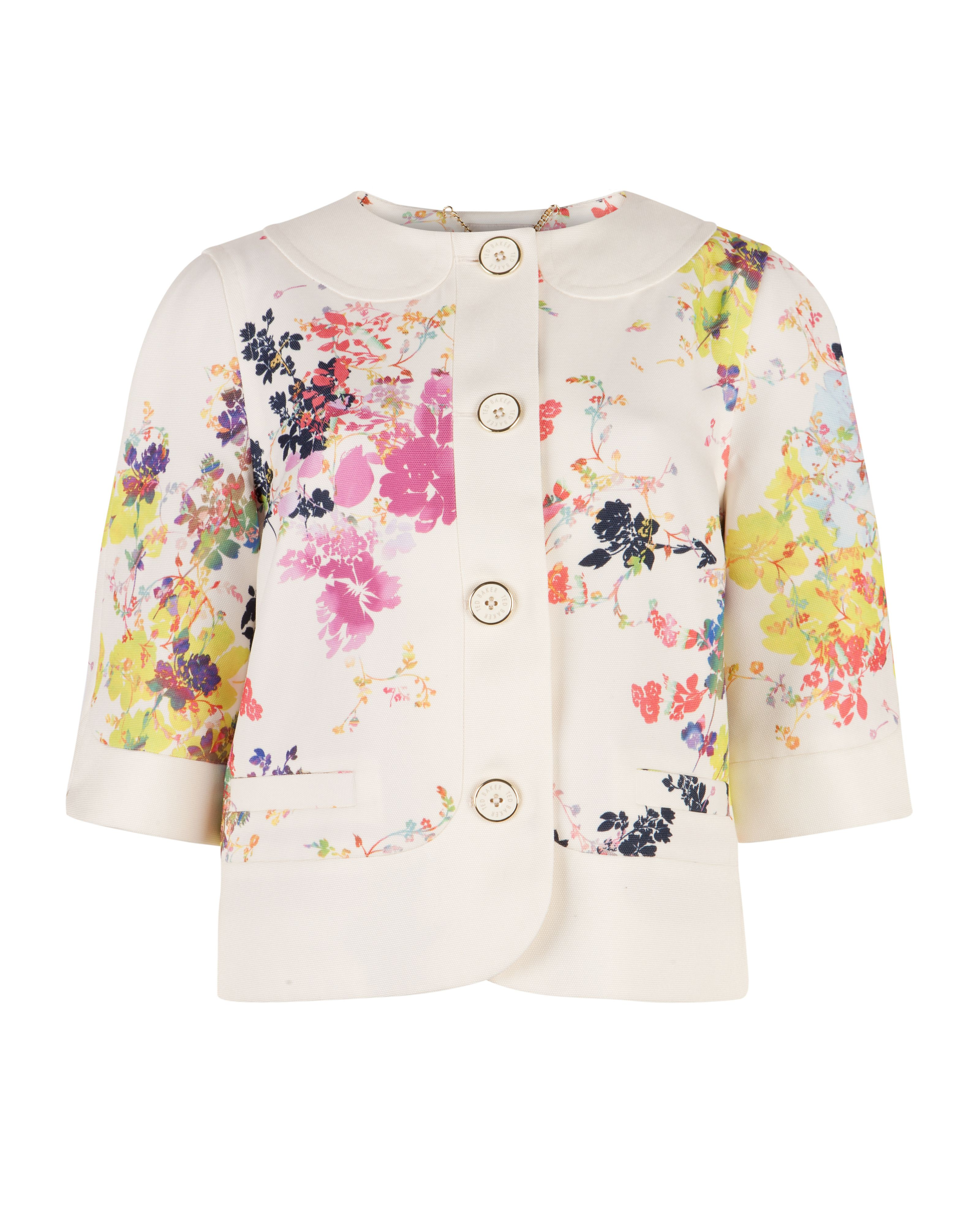 Zohe summer bloom print jacket