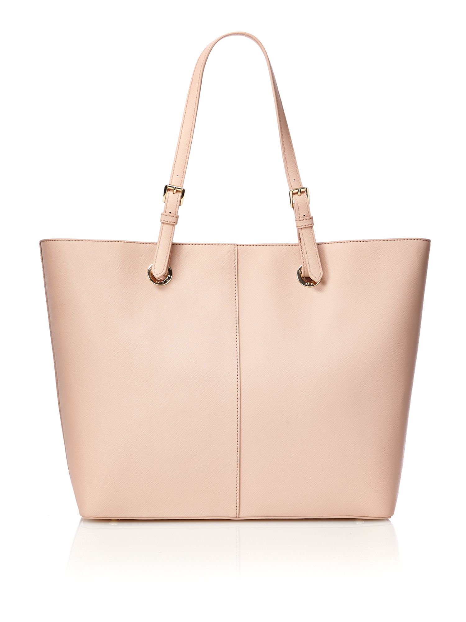 French grain pink shoulder bag