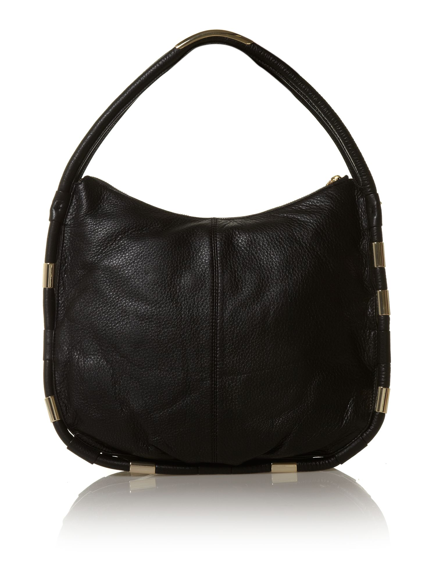 Crosby black small hobo bag