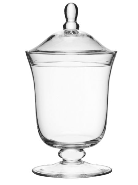 LSA International Serve Bonbon Jar Clear