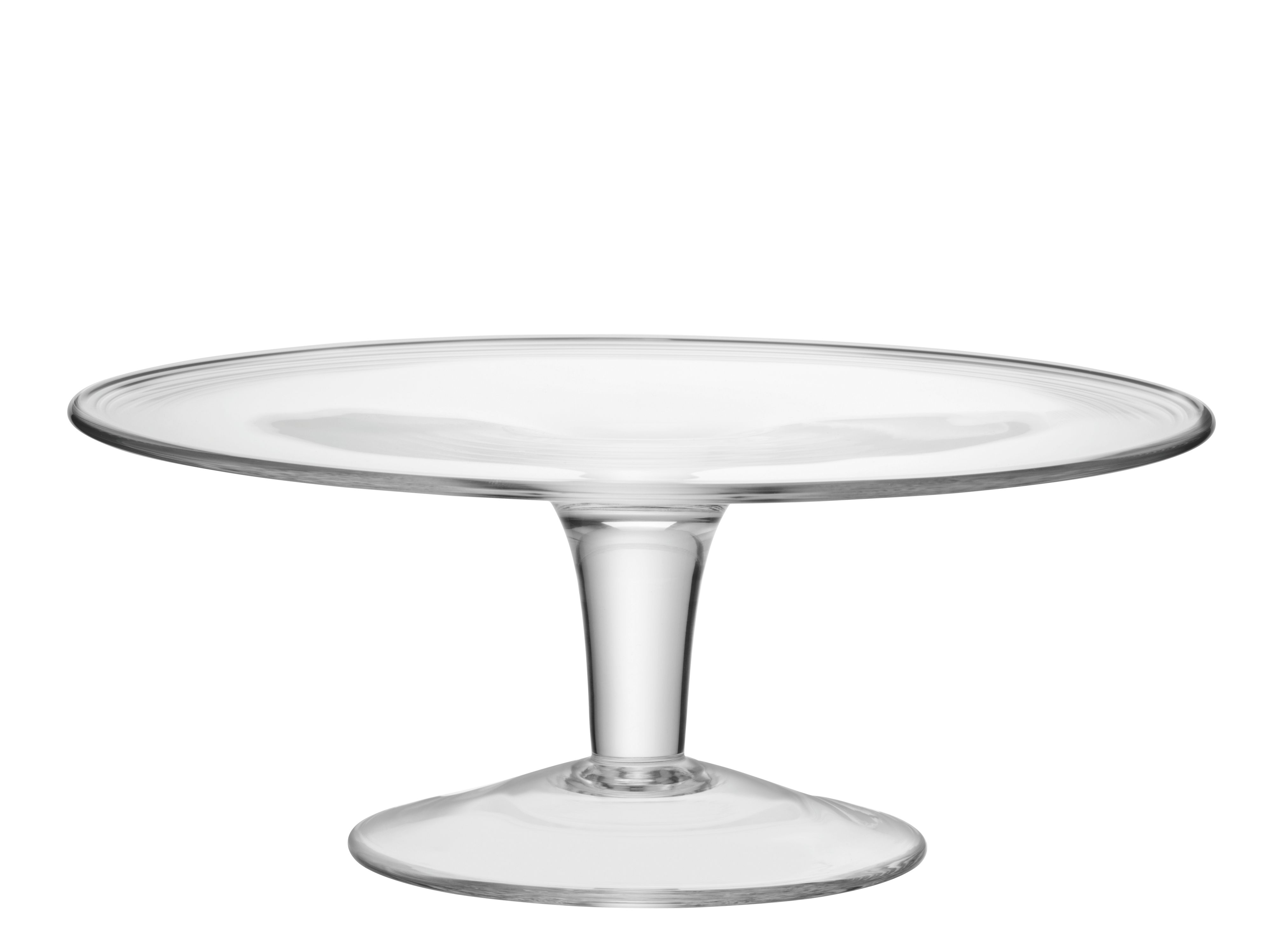 LSA International Serve Cake Stand 31cm Clear