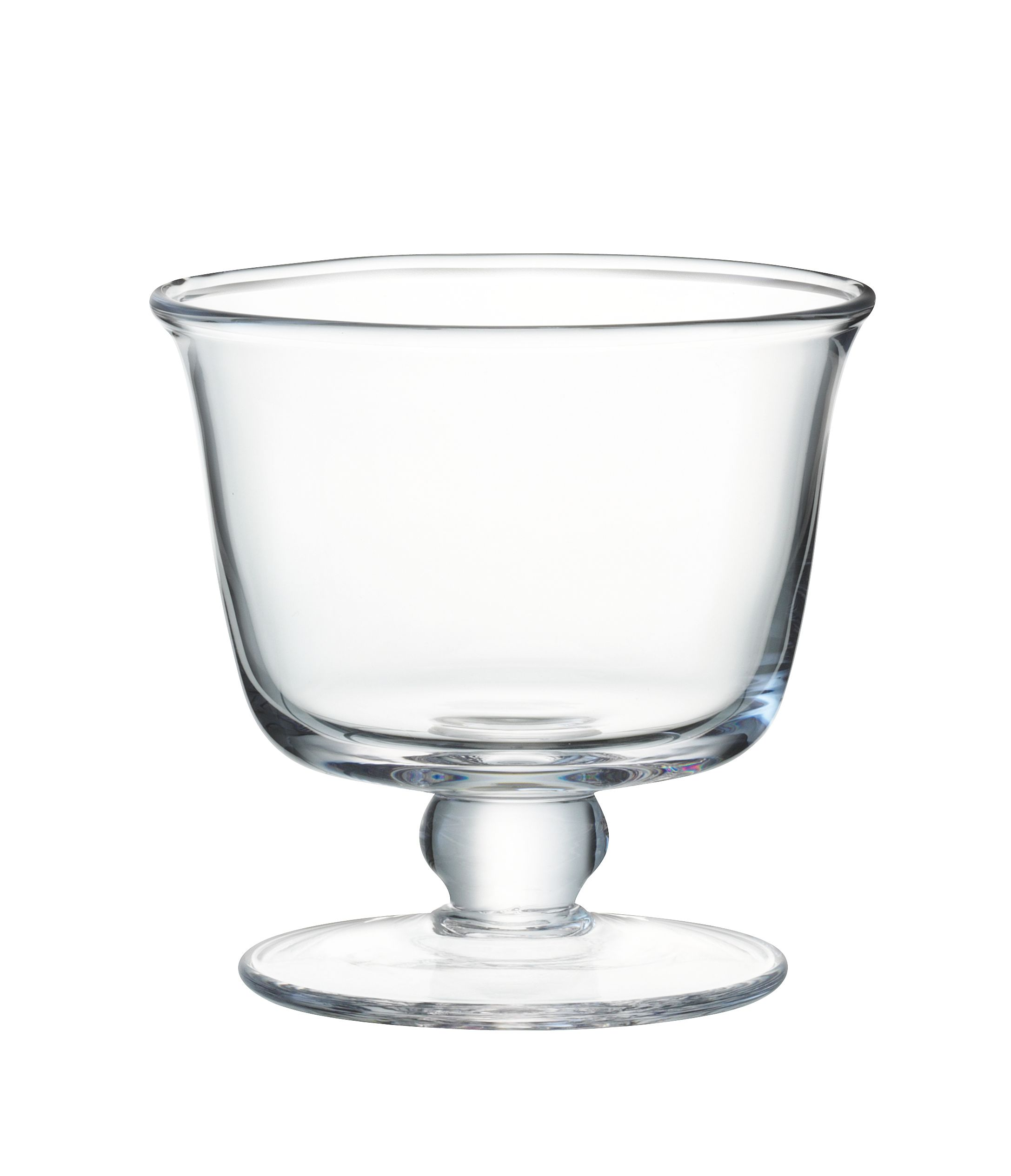 Serve Tall Dish 11cm Clear