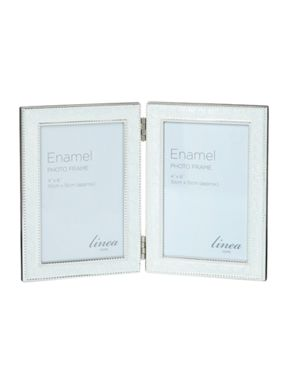 Linea Cream Beaded Enamel Frame Range