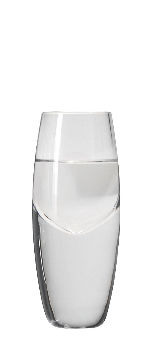 Bullet vodka glass