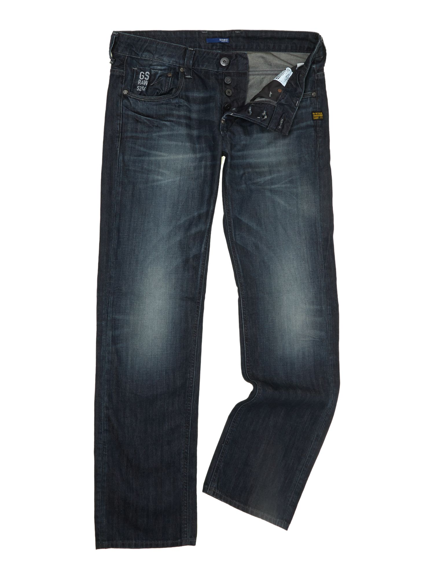 Low rise slim fit jeans
