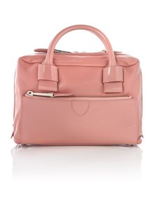 Marc Jacobs Prince nude patent mini bowling bag