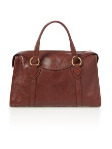 Wellington burgandy large bowling bag