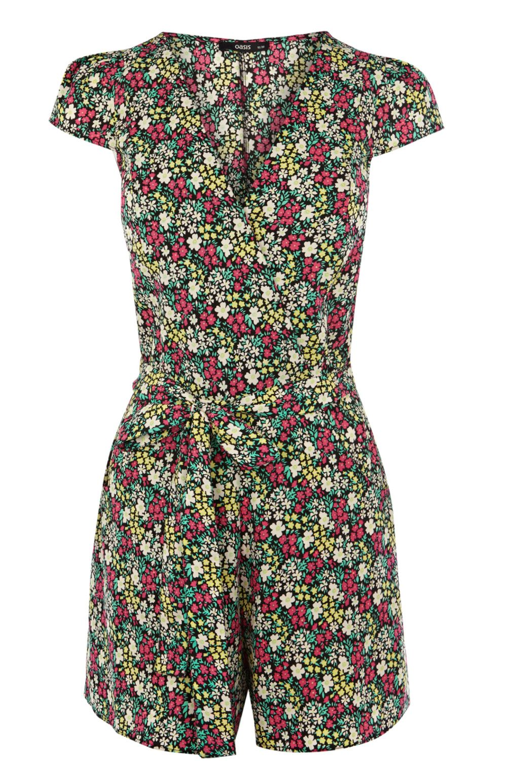 Ditsy printed playsuit