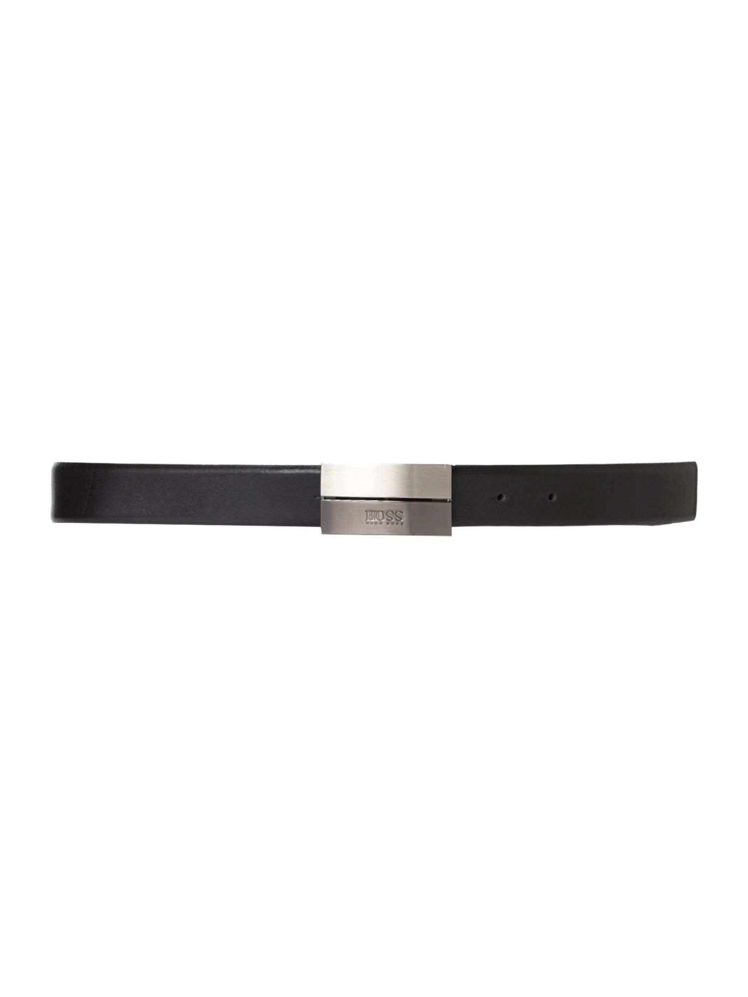 Elegon logo plaque belt