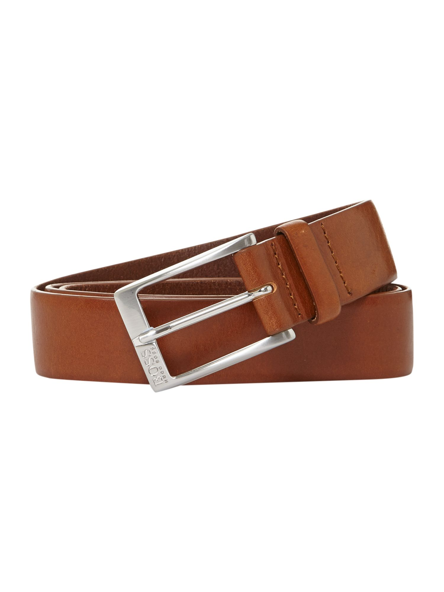 Eberio logo buckle belt