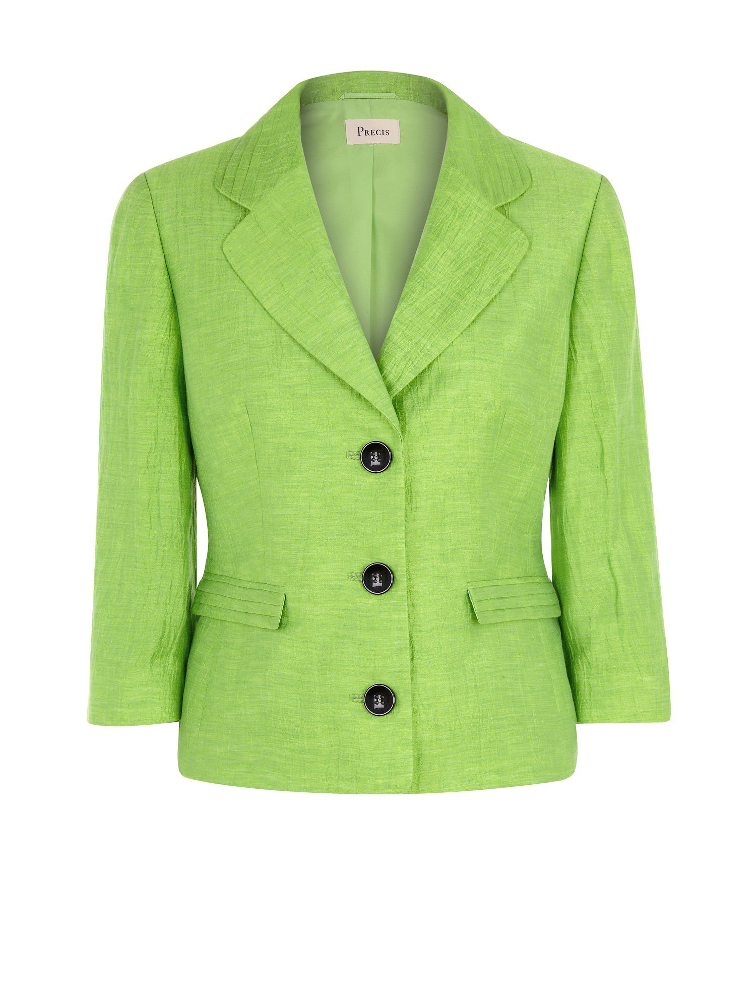 Apple pleat collar jacket