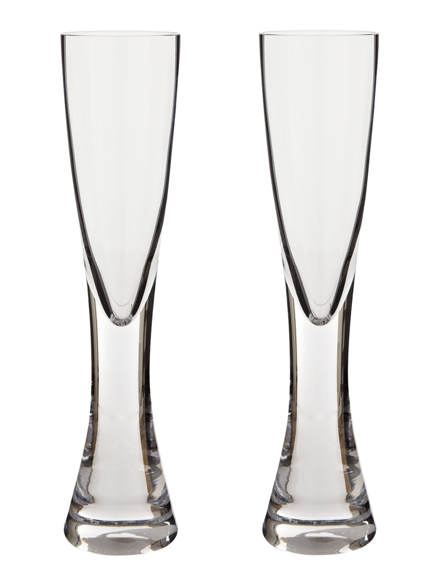 Elina Clear Champagne Flute, set of 2