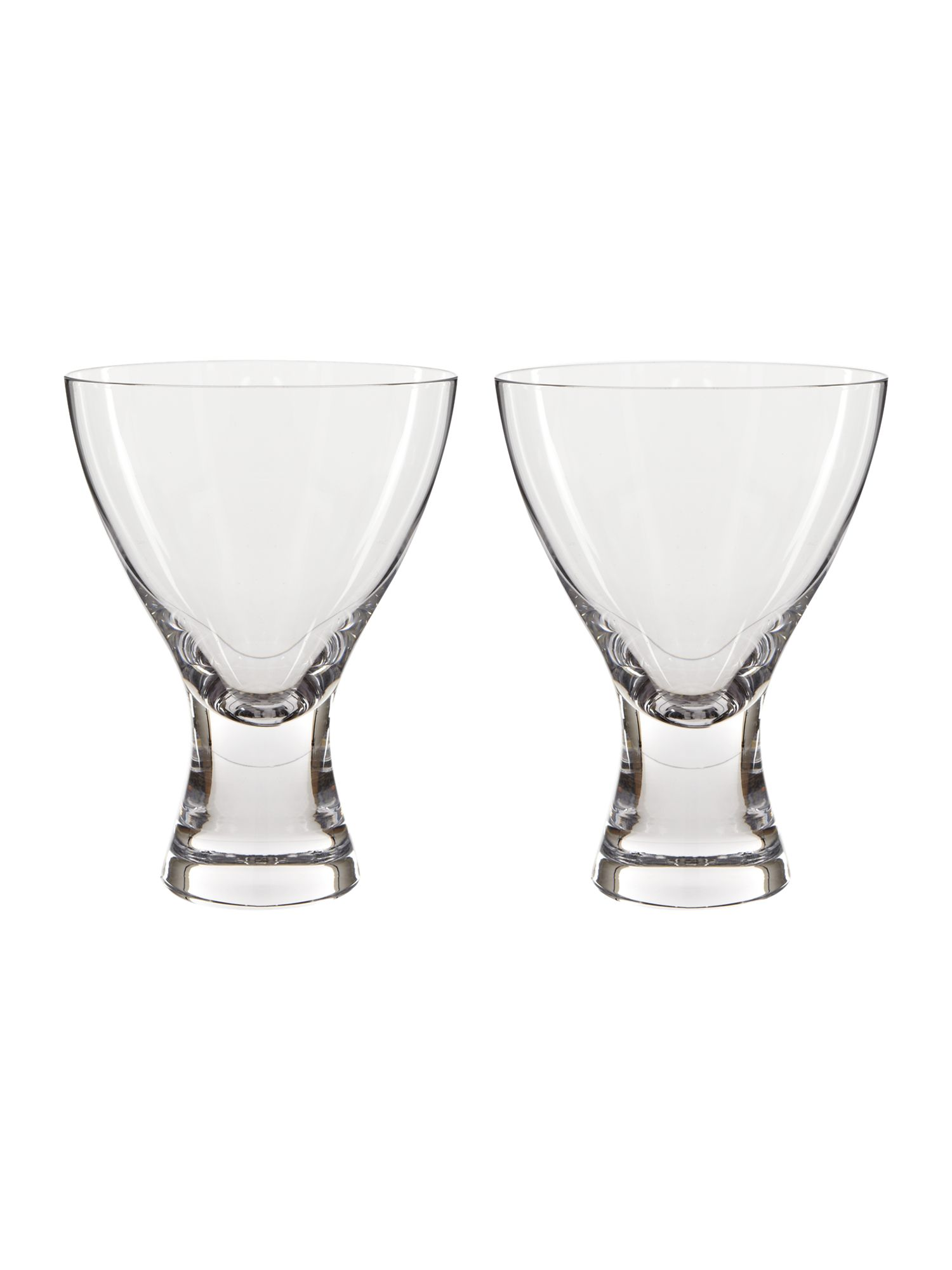 Elina Clear Water/Wine Glass, set of 2