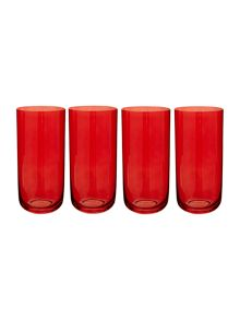 Centro Berry Highball, set of 4