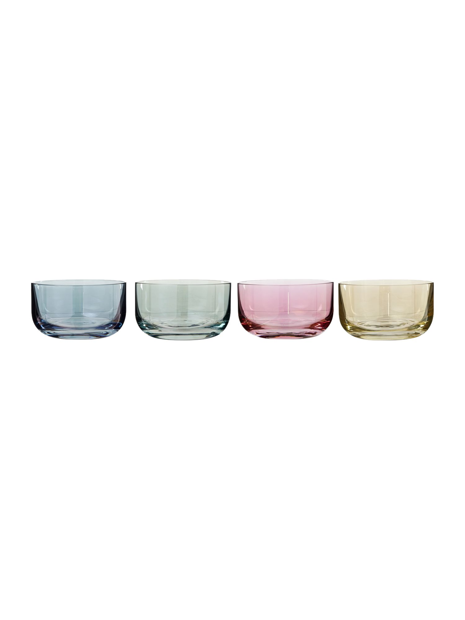 Polka Pastel bowl, set of 4