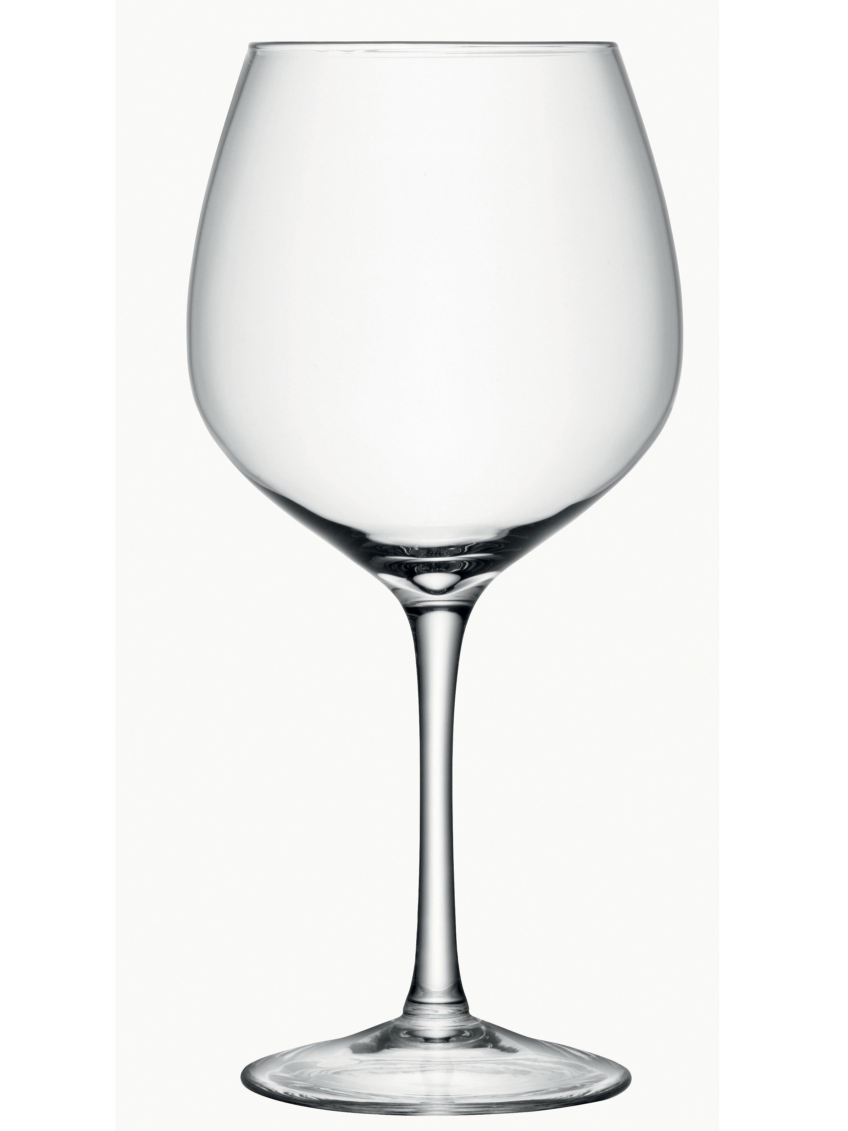 Midi Decorative Wine Glass H39cm Clear