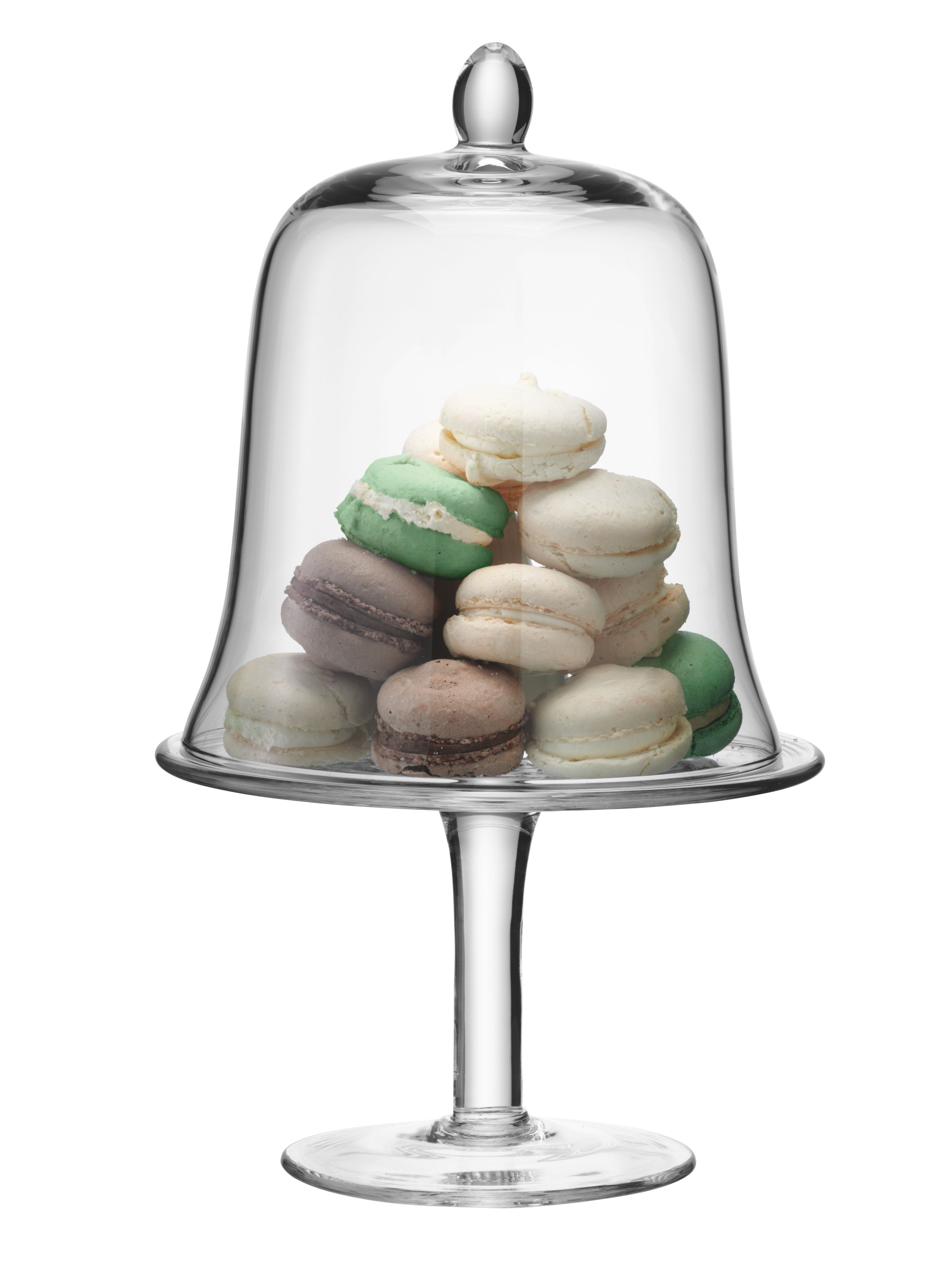 Serve cake stand & dome 22cm