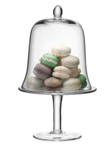 LSA Serve cake stand & dome 22cm