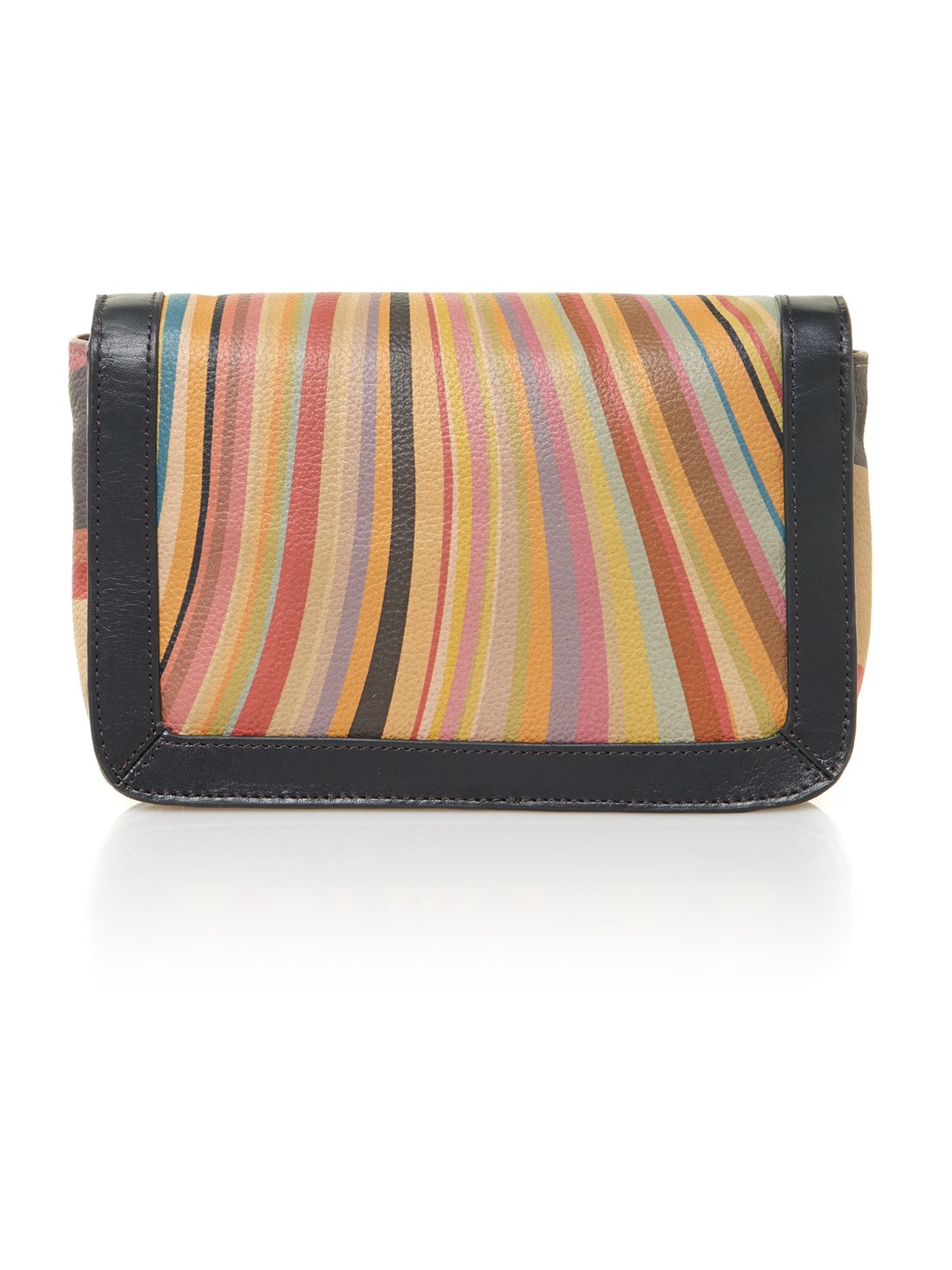 Swirl print small crossbody bag