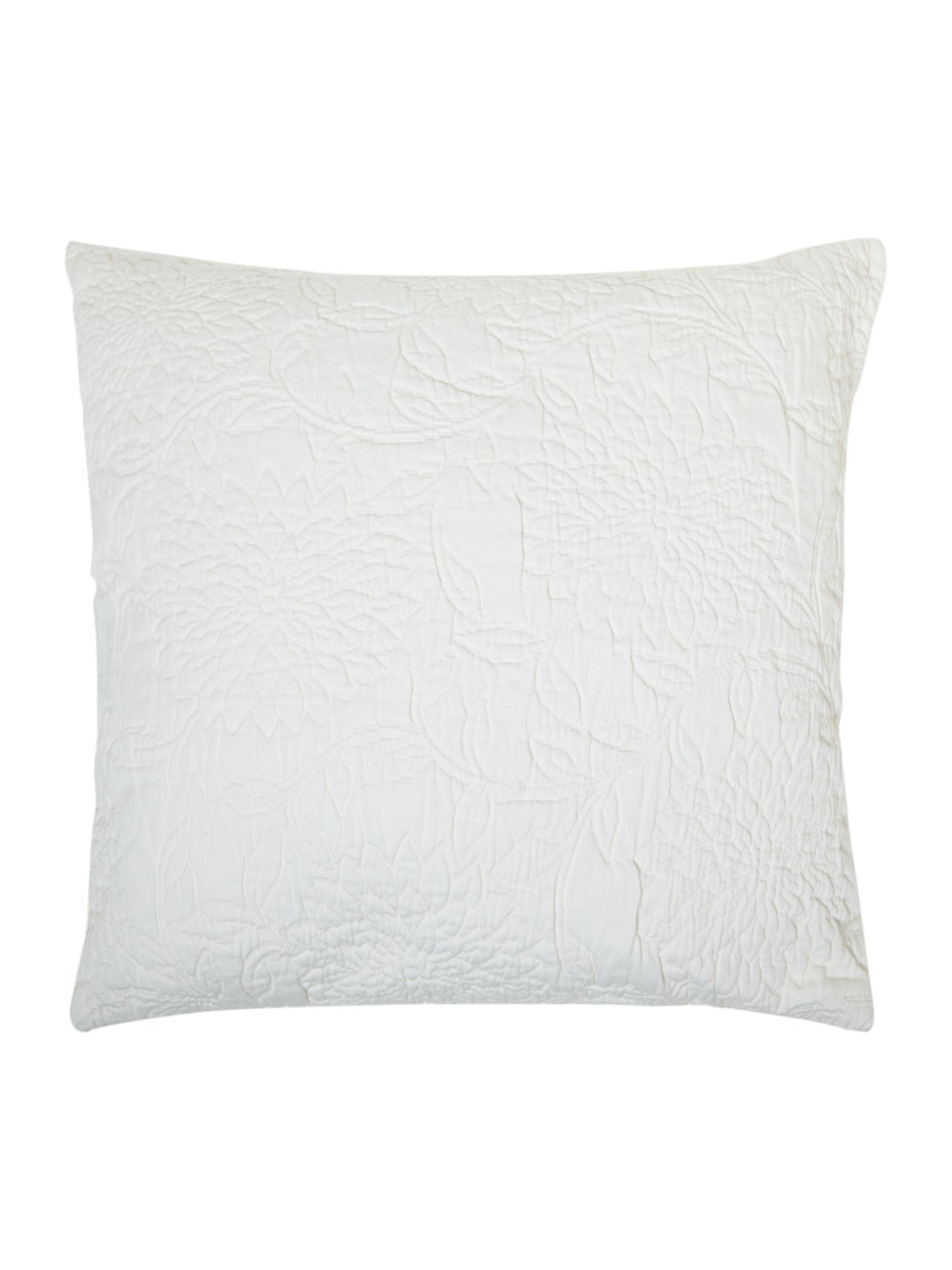 Natural matalasse cushion