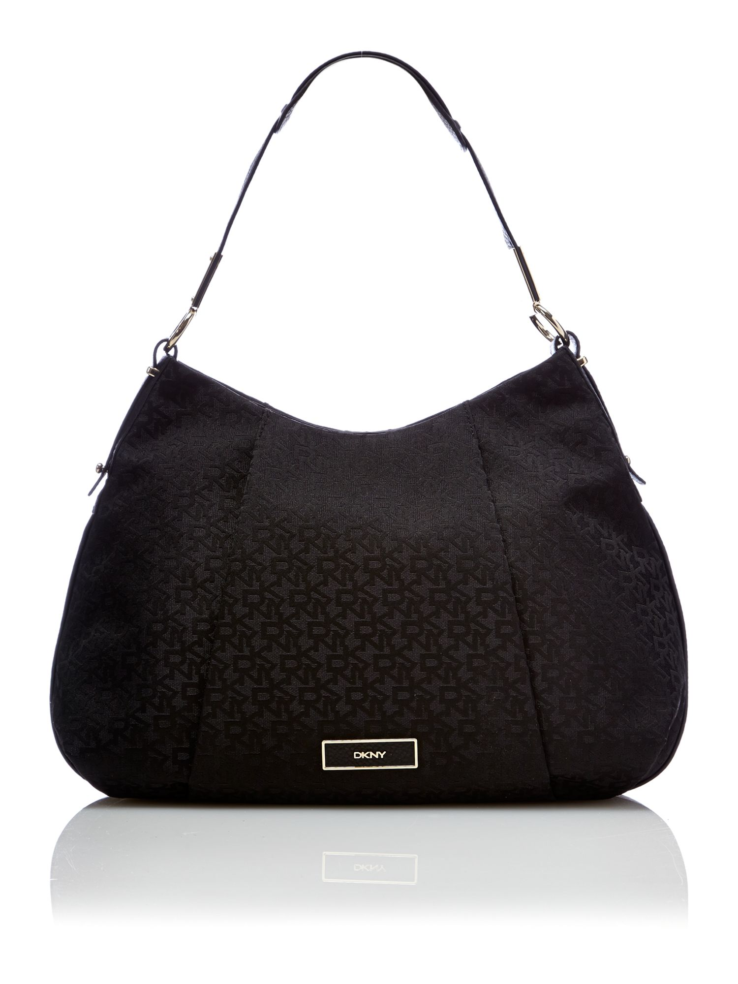 Crosby black hobo bag