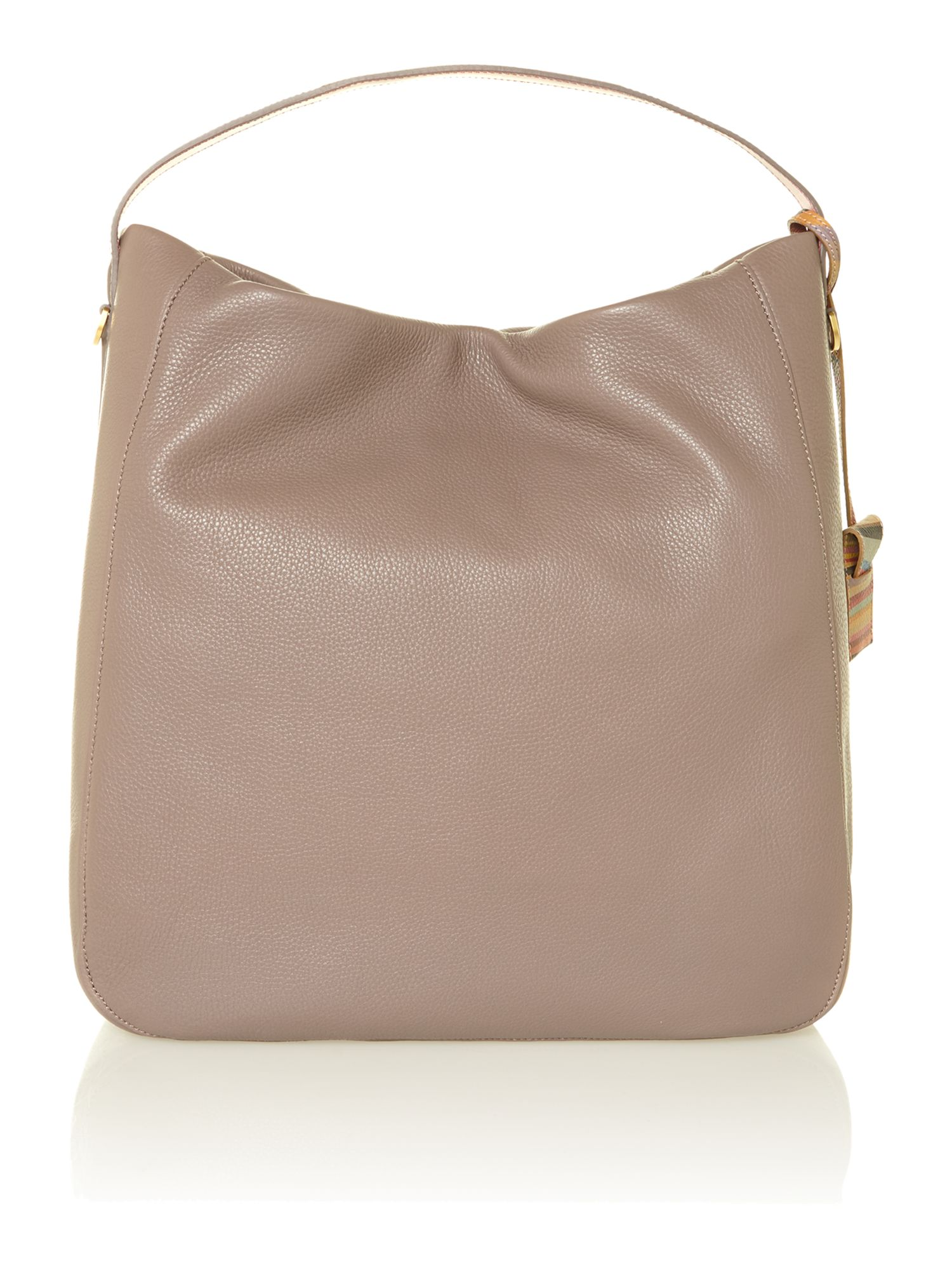 Albermale taupe large hobo bag