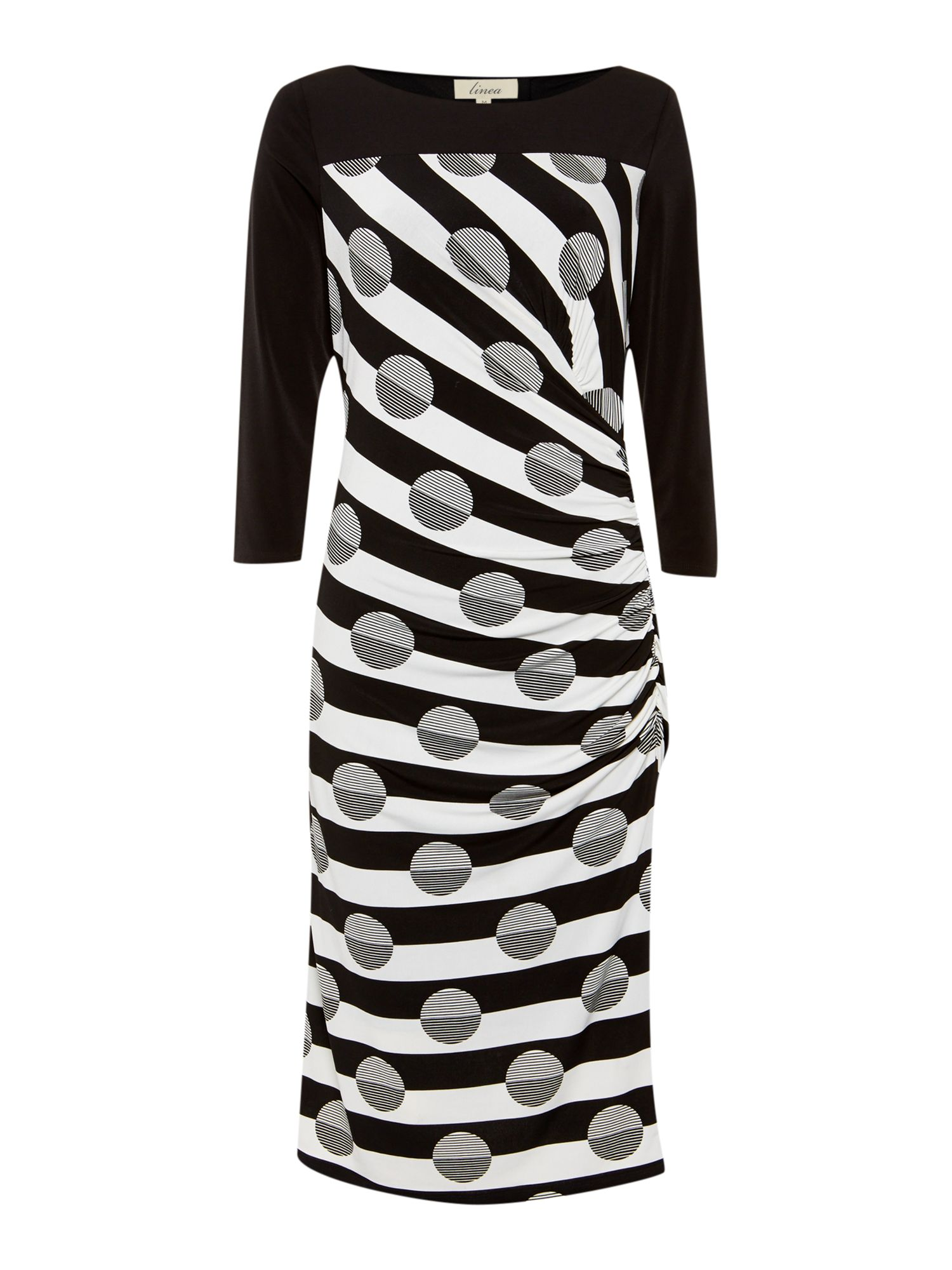 Stripe and Spot Dress