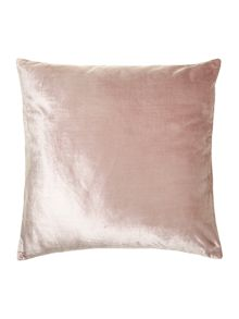 Linea Blush velvet cushion