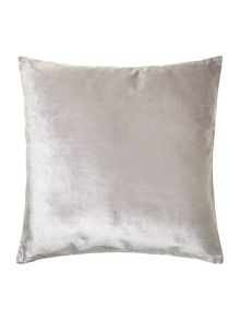 Linea Grey velvet cushion