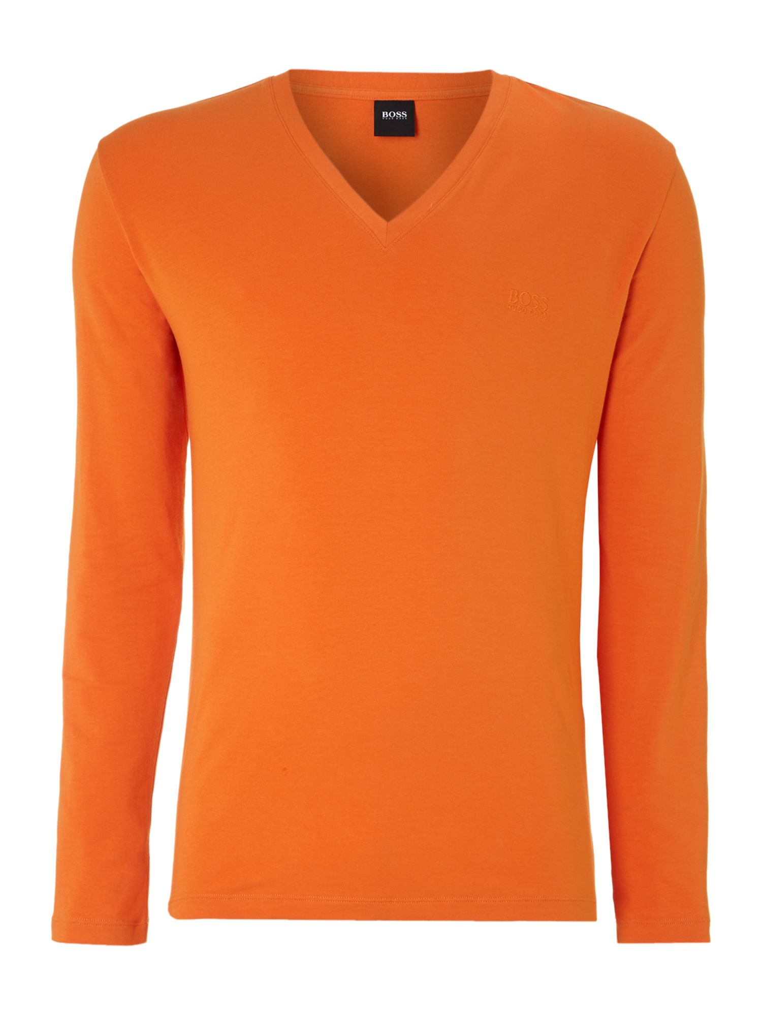 Long sleeved v neck tshirt