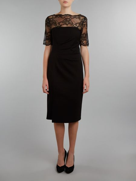 Shubette Long sleeve lace dress