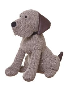 Linea Sitting down dog felt door stop