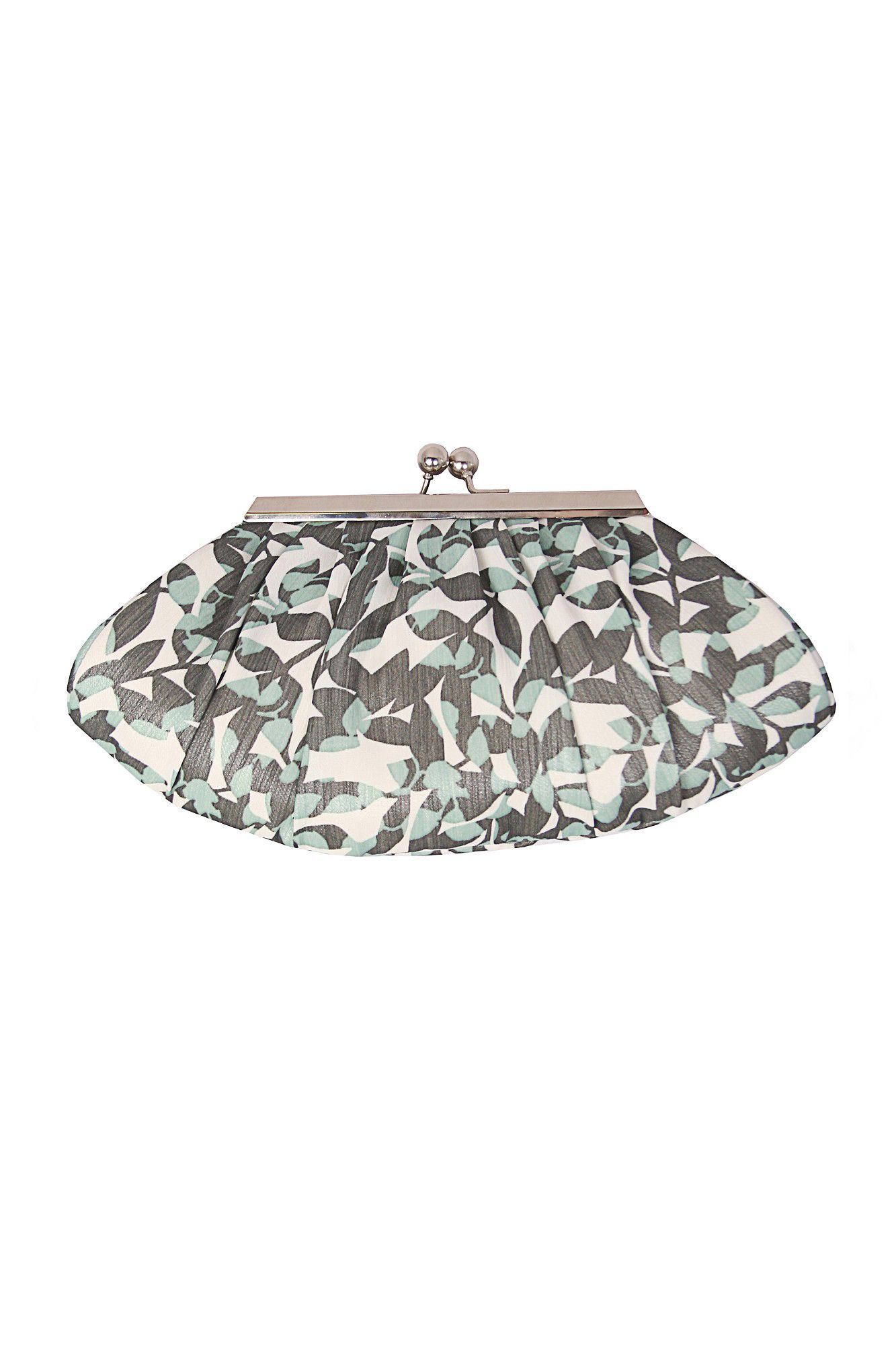Shadow leaf print bag