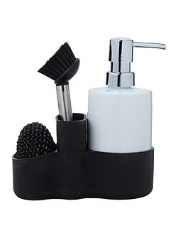 Cleaning set, black